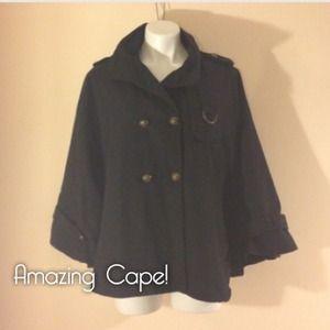 Black cape!