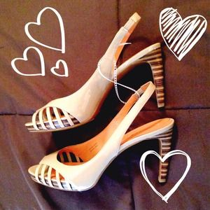 Via Spiga Shoes - Sale! Via Spiga Sling Backs (Nude/Tan)