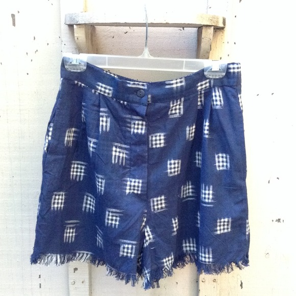 Other - High Waisted Fringed Shorts Size M