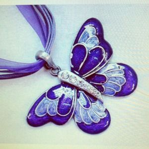 Jewelry - 🎉🌟👏 B&B HOST PICK 🎉🌟👏 Butterfly Choker 🎉🌟