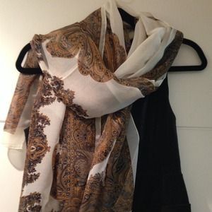 Other - HP Multi-wear Beach cover/scarf/blouse NWT white