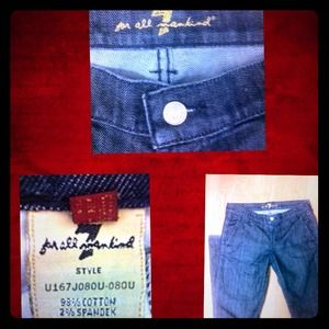 7 For All Mankind RARE denim
