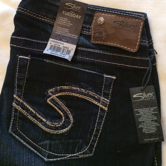 59% off Silver Jeans Pants - New with tags SILVER JEANS Size 29/33
