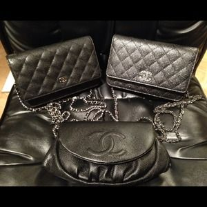 Authentic Chanel WOC- Wallet on Chains- Brand New
