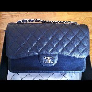 To show! Chanel Jumbo Black Caviar w/SHW