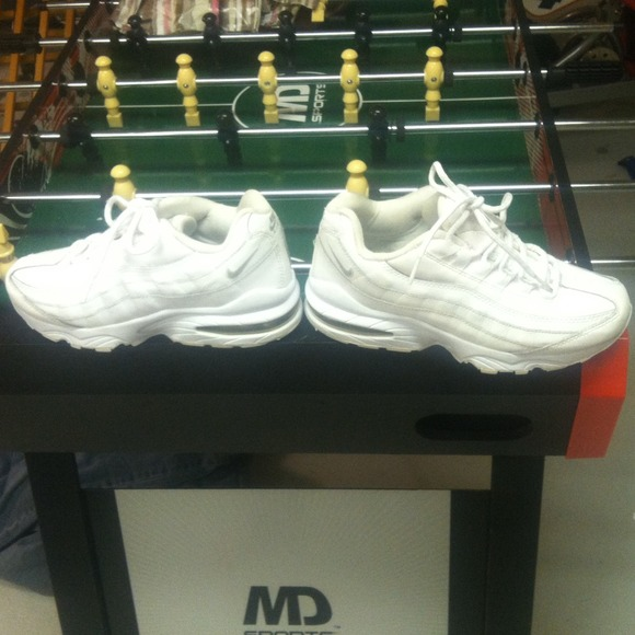 Nike Shoes | White Air Max 95 Size 4