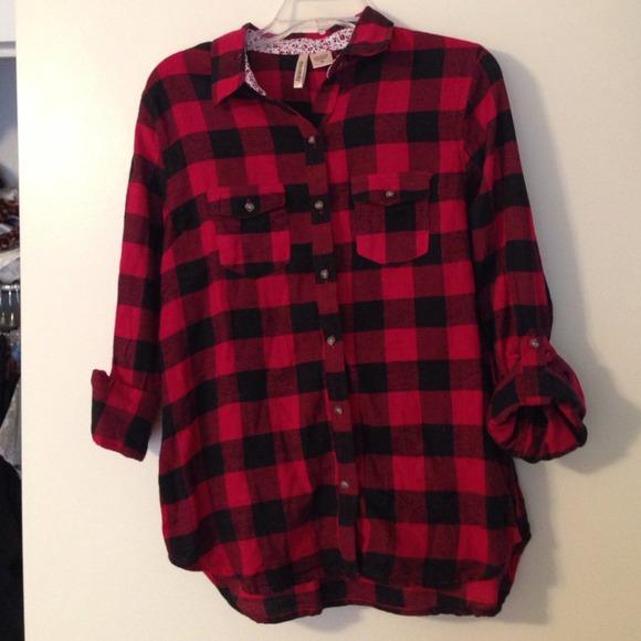 Men S Red Gingham Shirt
