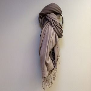 Accessories - Brown and Kaki Ombré Shawl/Scarf