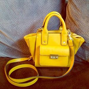 HOLD. Phillip lim x target mini yellow bag. Rare.
