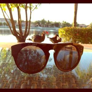 Alexander Wang Brow Sunglasses