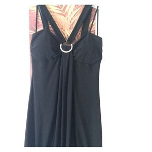 Stretch black dress