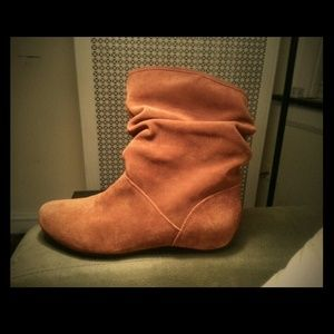 Brown suede boots- Never worn