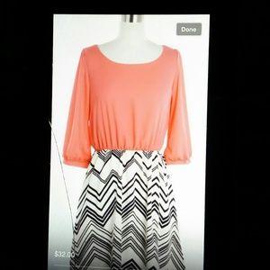Dresses & Skirts - Large chevron dress