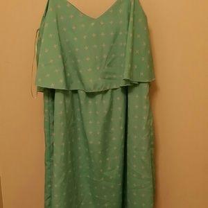 Dresses & Skirts - Large Mint cross dress