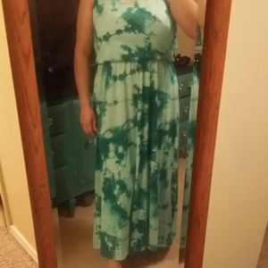 Dresses & Skirts - Tye dye maxi dress