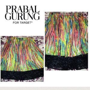 Prabal gurung for target multicolor skirt.