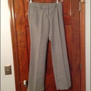 Linen grey jcrew pants worn twice
