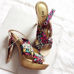 Bakers Shoes - Bakers floral heels