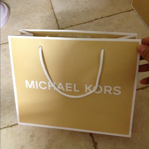 989694ce953f Michael Kors Accessories | Mk Paper Bag Size Small 10 X 8 X 4 | Poshmark