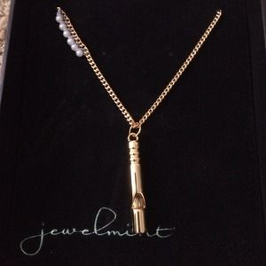 "Adorable JewelMint ""Fine Tune"" Whistle Necklace!"