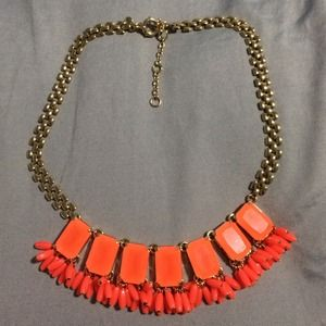 Taking offers - J.Crew Orange necklace