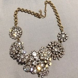 J.Crew Bib Necklace authentic.