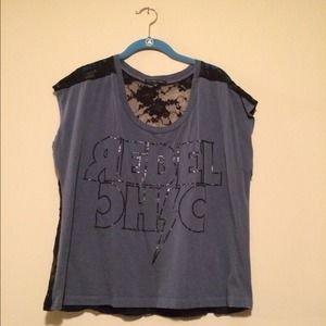 Urban Outfitters Rebel Chic Tshirt