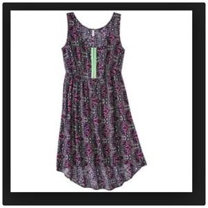 Dresses & Skirts - Junior size high low floral dress Small