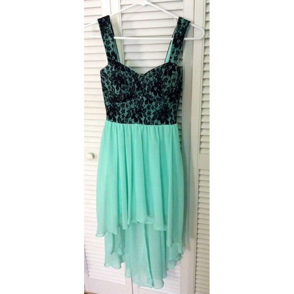 68% off B. Darlin Dresses & Skirts - B. Darlin teal formal dress ...
