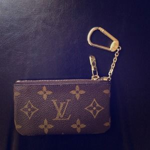 Louis Vuitton Cles Coin Purse Pouch