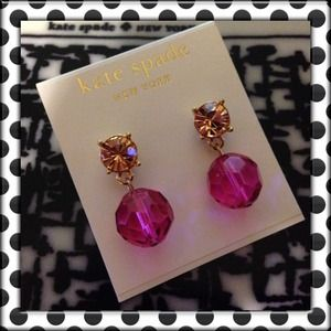 "♠Kate Spade NY ""On The Ave"" Drop Earrings♠"