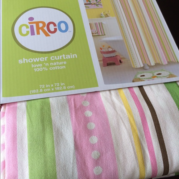 Curtains Ideas target kids shower curtain : Circo - NWT Circo love and nature shower curtain. 12 hooks from Nancy ...