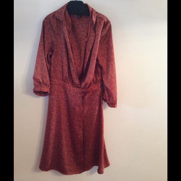H&m Printed Wrap Dress