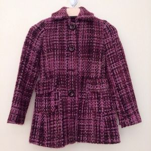 Brand NEW Banana Republic Wool Tweed Jacket Coat