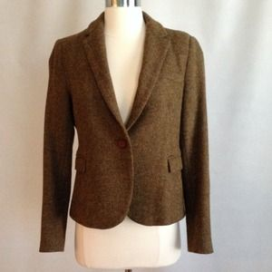 Zara Basic Tweed Blazer