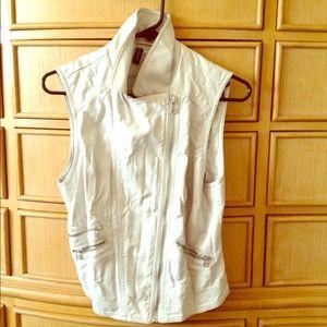 H&M Leather vest