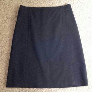 Black skirt from Banana Republic