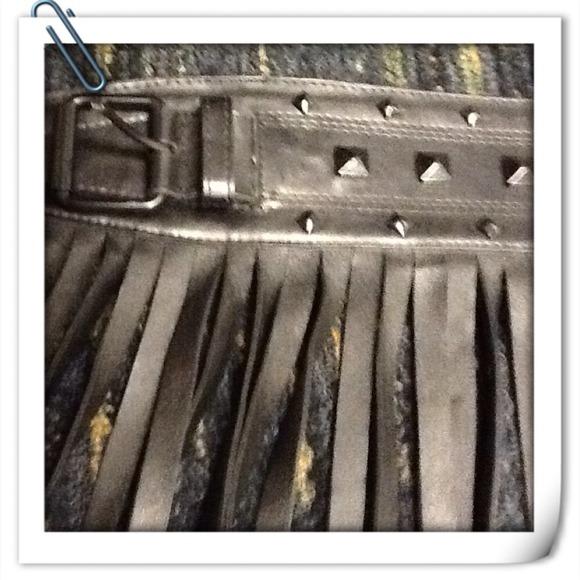 74 bcbg accessories bcbg max azria black leather