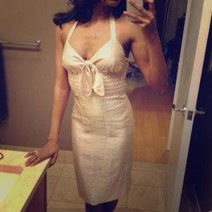 Gold Betsey Johnson Pin-up dress final price