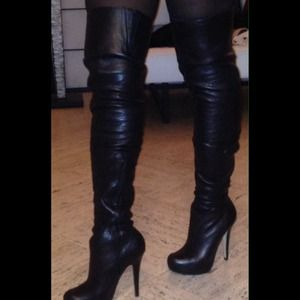 Top Shop thigh high boot