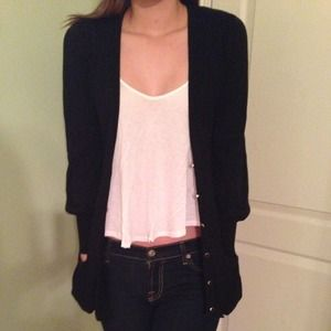 Luxurious Black Cardigan