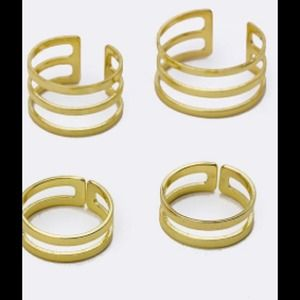 Hannah Beury Jewelry - Midi Ring Set