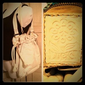 Lucky Brand White leather bag