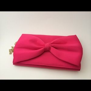 H&M Clutches & Wallets - H&M Satin Bow Clutch