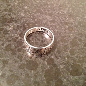 Jewelry Love Life Be Brave Ring Poshmark