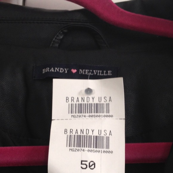 Brandy Melville Jackets & Blazers - Brandy Melville Leather Jacket 3