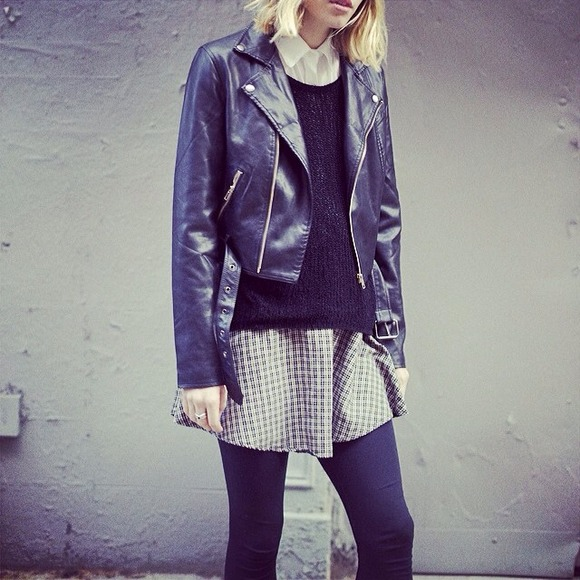 Brandy Melville Jackets & Blazers - Brandy Melville Leather Jacket