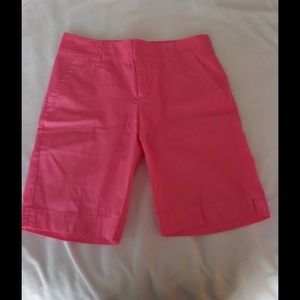 🔴SOLD🔴LILLY PULITZER Pink Cotton Shorts Sz 2