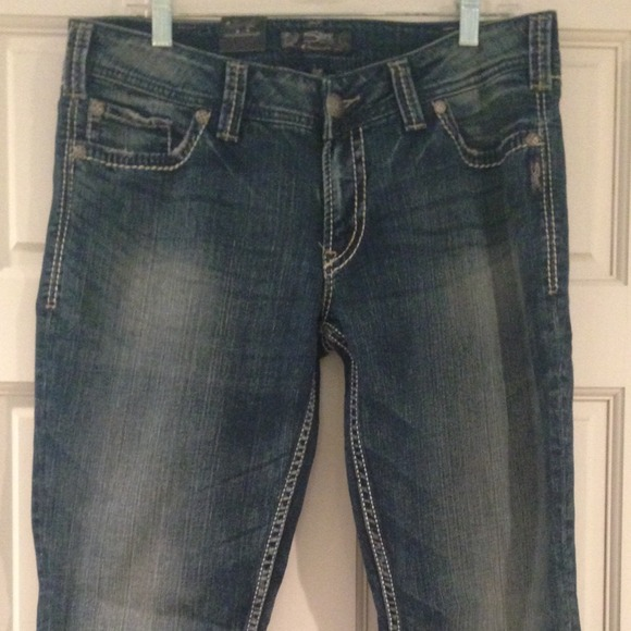 26% off Silver Pants - NWT Silver Jeans, size 33/30 from Mariah's ...