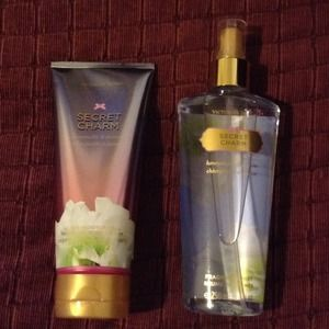 "Victoria's Secret ""SECRET CHARM"" lotion & mist"